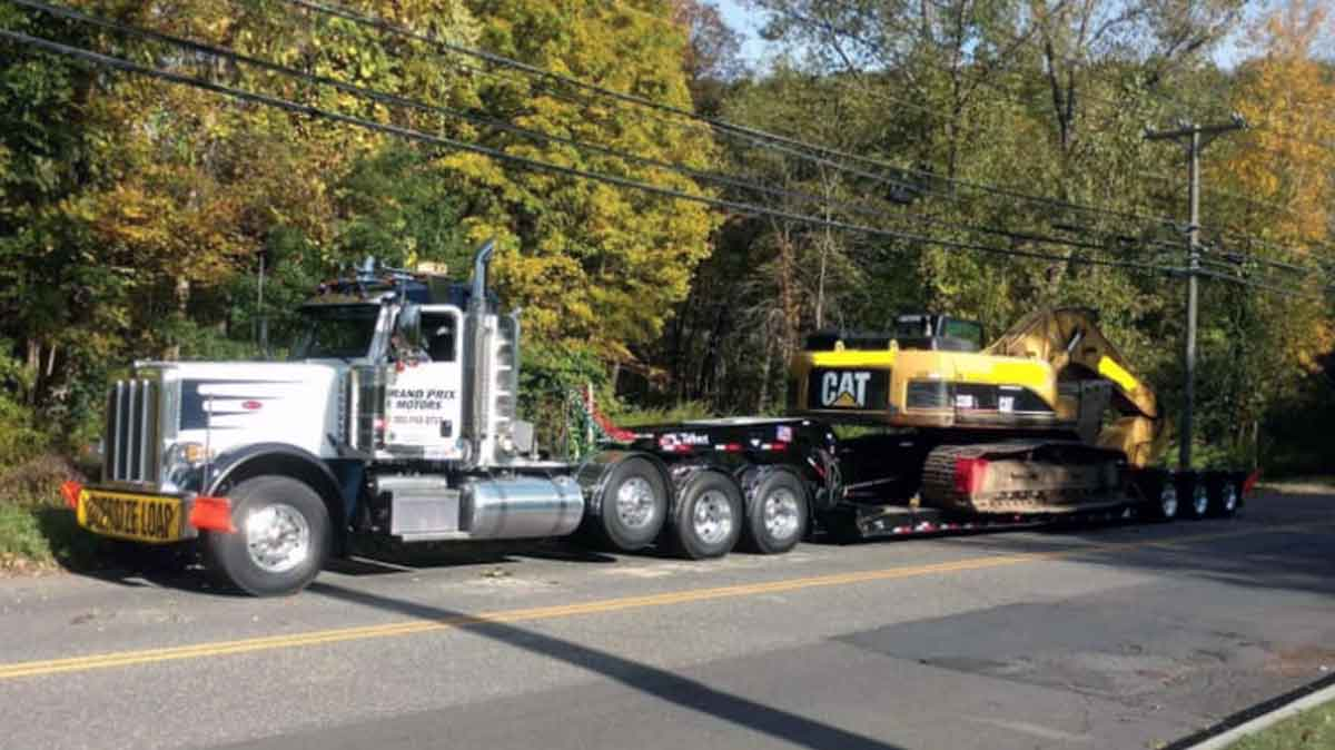 heavy hauling danbury