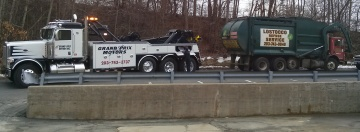 heavy truck towing i 84
